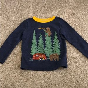 Waffle knit thermal 3T